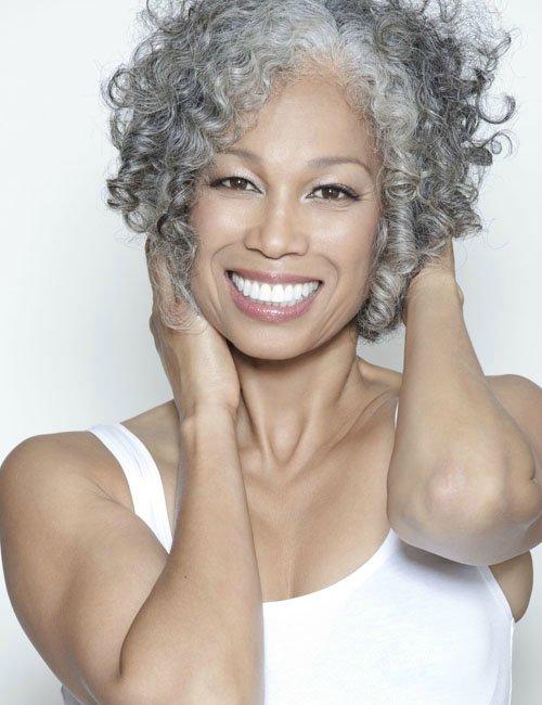 black-women-gray-hair